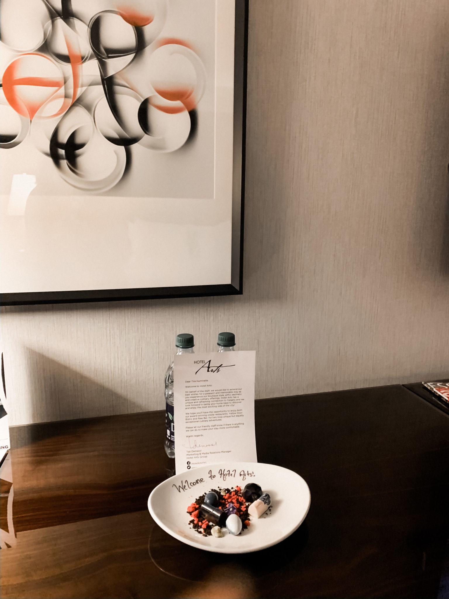 Simply Tira Calgary's Hotel Arts